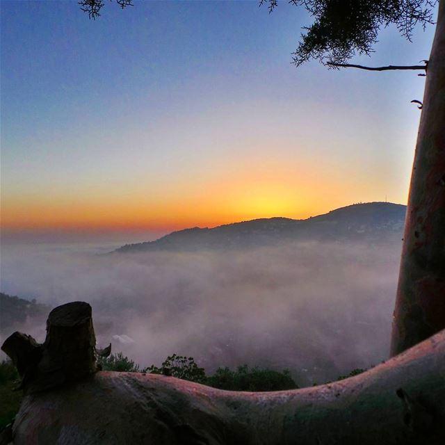 nikontop_ nikonworld bns_sky bns_sunset naturelovers unlimitedsunset... (Beit Ed-Deen, Mont-Liban, Lebanon)