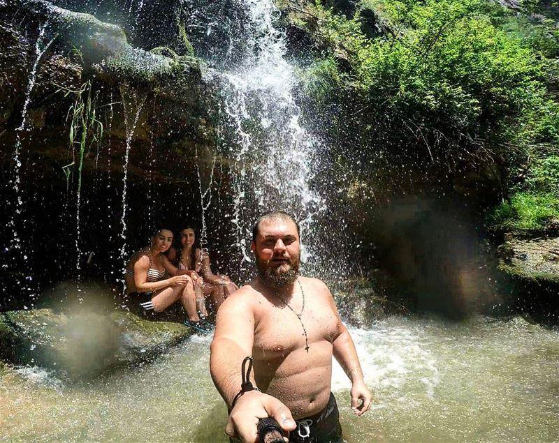 Selfie CapturingTheMoment HikingMates NatureLovers AdventureLovers ... (Faraya, Mont-Liban, Lebanon)