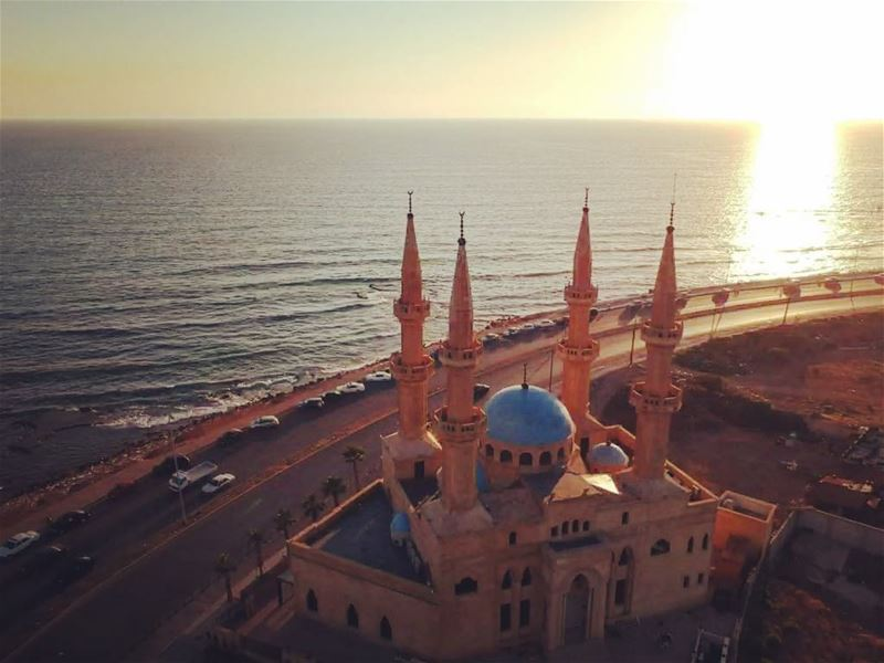 My first Drone shot...stay tuned for more 📷 PS: still practicing 🙈 ... (Al Mina', Liban-Nord, Lebanon)