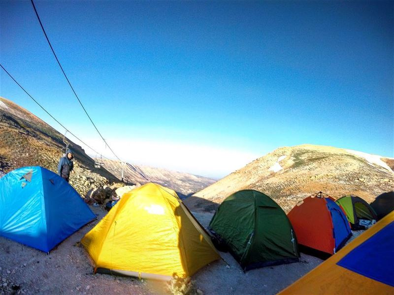 b a s e c a m p .. lebanon lebanon_hd lebanon_hdr hafroun camping ... (Cedars of God)