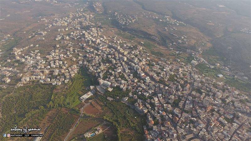Aerial view of Zgharta - North Lebanon zgharta northlebanon ...