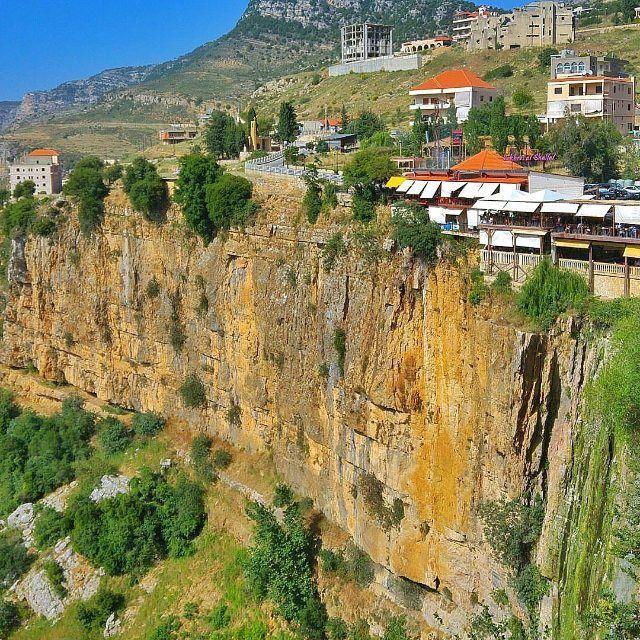 Over the edge by @jamesalachkar @livelove_jezzine (Jezzîne, Al Janub, Lebanon)