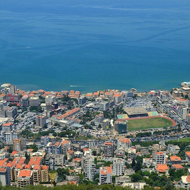 @livelovejounieh on a sunny day by @el_dayeh (Jounieh - Lebanon)