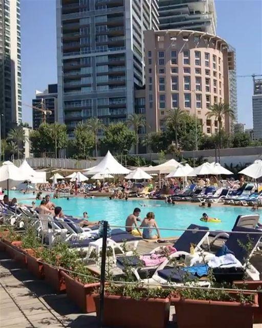 Verão em Beirute 🌞🇱🇧 Summertime in Beirut by @bassamwalid ... (Zaitunay Bay)