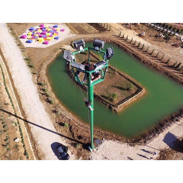 Climbing up the First Selfie Tower in Lebanon! @cascadapark @cascadamall coming soon! (Cascada Mall)