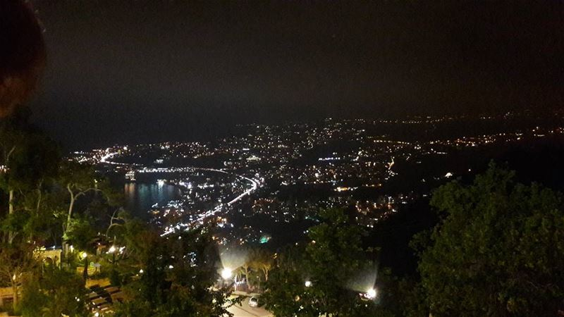 A Wonderfull View From Harissa...This picture is taken by me...... (سيدة لبنان حريصا)