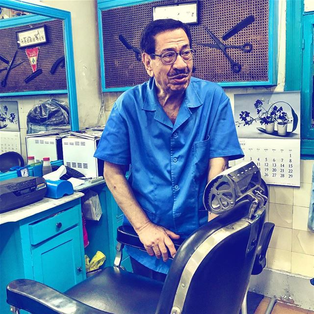 Meet 3amo Philip, the famous and probably the oldest barber on Bliss... (Bliss Street)