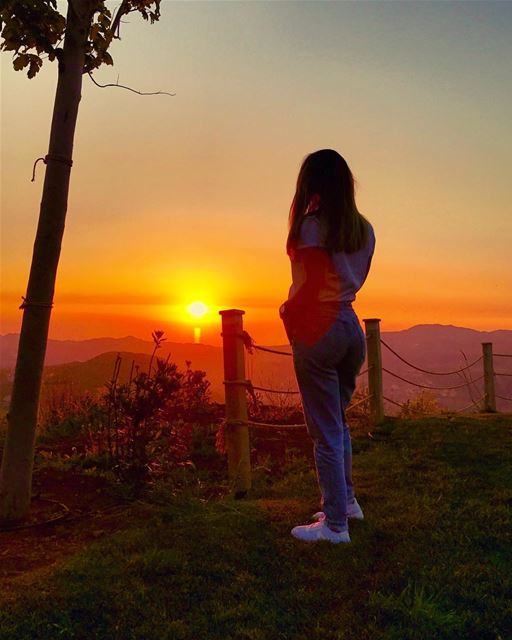 In love with magnificently burning skies and everything that is... (Faraya, Mont-Liban, Lebanon)