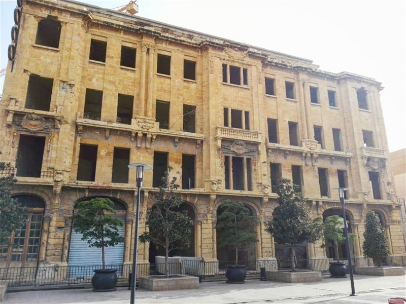 Art is never finished, only abandoned. architecture  travel  history ... (Beirut Souks)