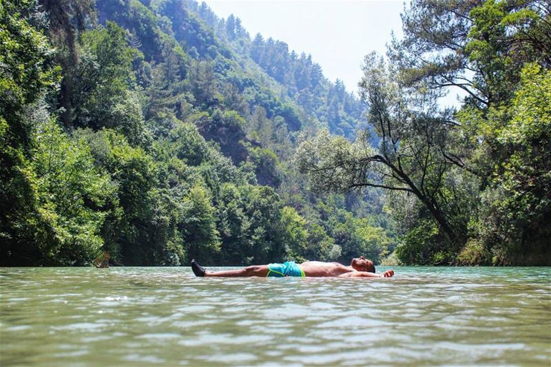 جكارة بالشوب 😎 tb chouwen river lake nature forest float water ... (Chouwen)