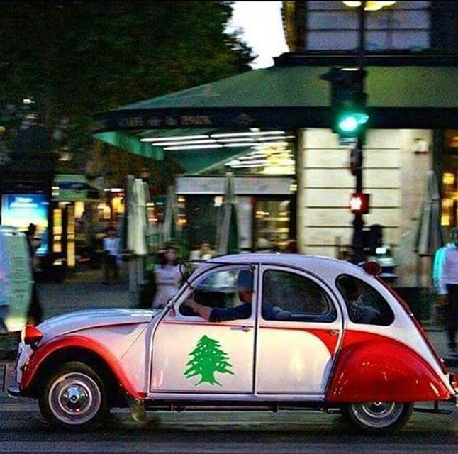Sometimes our love for our country exceeds all limits! togetherforlebanon... (Beirut, Lebanon)