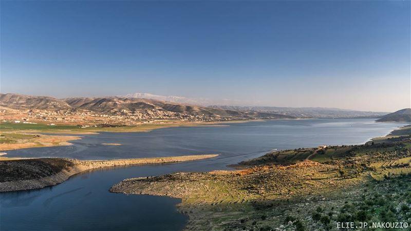 nikon photography take me back live love life the view lake ... (Lake Qaraoun)