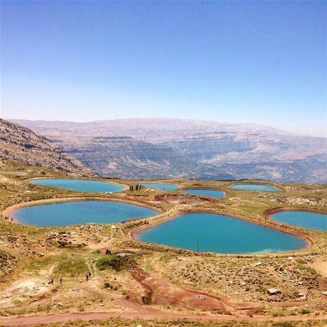 Estheticallypleasing water bassins spotted in Akoura @liveloveakoura ... (Akoura, Mont-Liban, Lebanon)