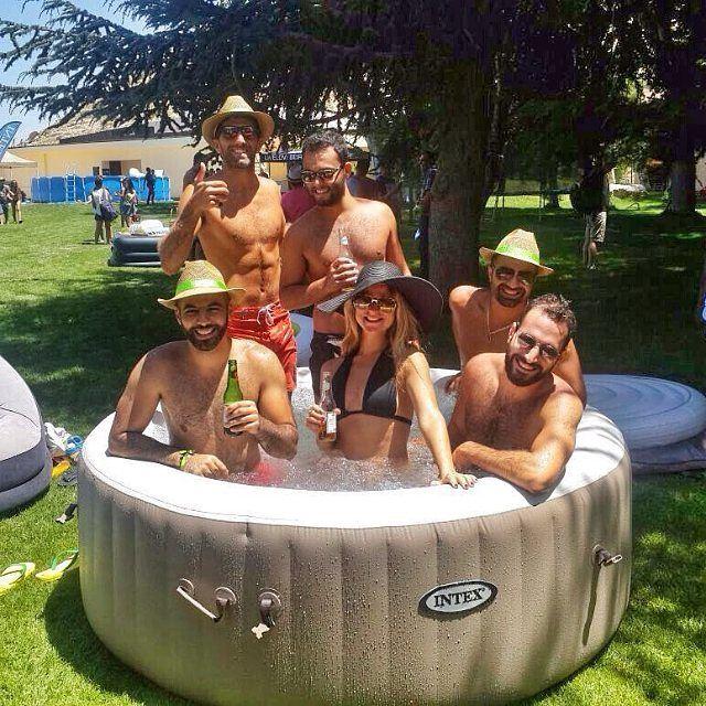 Lazy summer days with @intexlb intexsummertime