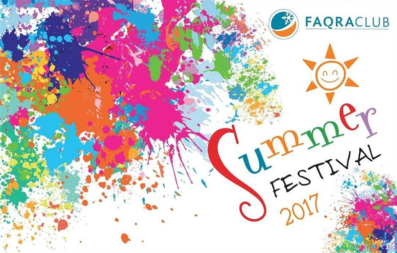 Soon...... faqraclub summer festival mountains lebanon colors ... (Faqra Club)