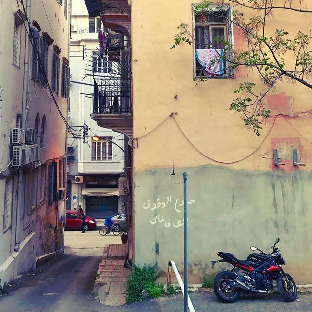 Stride by🏍🛵🚲 Lebanon tb travel travelgram traveler wanderlust... (Beirut, Lebanon)