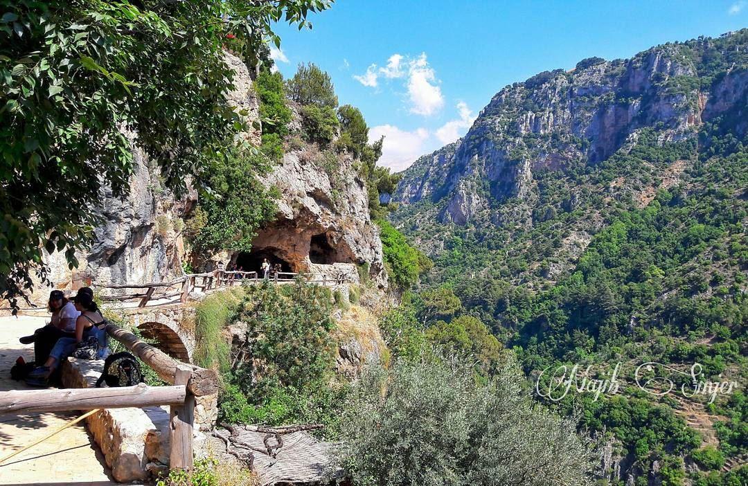 monastery saydetqannoubine qadisha qanoubin valy eglise church ... (Ouâdi Qannoûbîne, Liban-Nord, Lebanon)