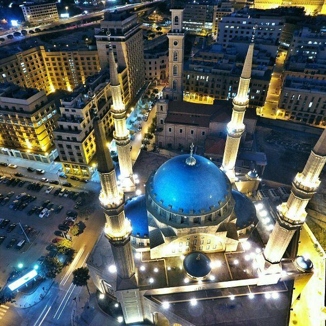 The month of love and peace, Ramadan Kareem everyone! livelovebeirut By our pilot @michokhoury (Beirut, Lebanon)