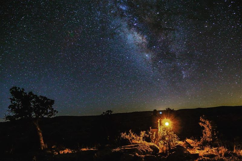 For many years i have been a night watchman of the milkyway galaxy ... (لزّاب Eco Lodge- جرود الهرمل)