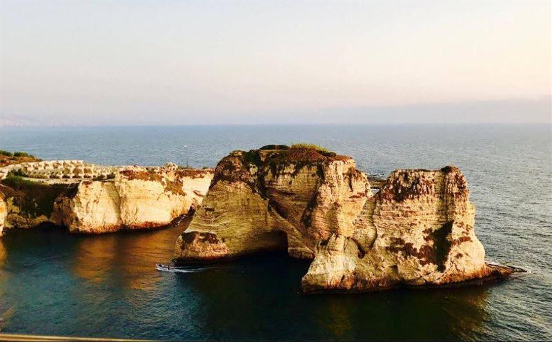 """سحر بيروت (📸 """"لبنان 24"""") .. Beirut Lebanon Raouche livelovelebanon..."""