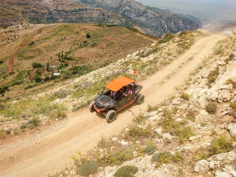 View from top !  polarislebanon  rzr  atv  adventure  utvunderground ...