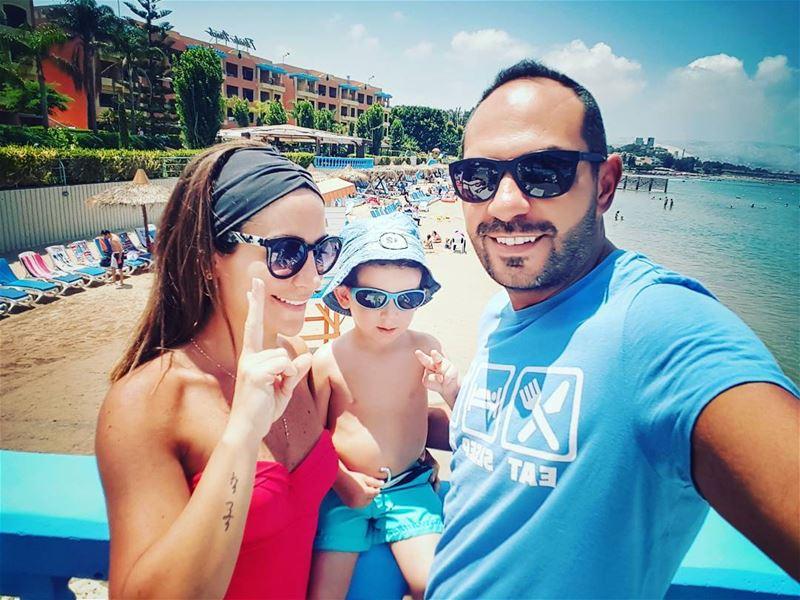 ✌....... saturdays familyday mylittleman lovehimtopieces ... (Florida Beach)