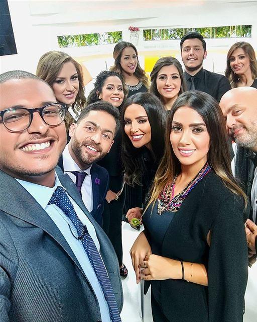 صباح_النور التلفزيون_العربي Selfie launching Morning TvShow ... (50 Frames Studios)