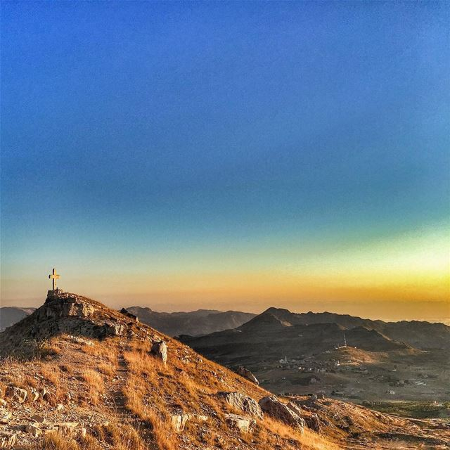 Above the clouds ... Mountains Sun Sky LiveLoveLaklouk ... (El Laklouk, Mont-Liban, Lebanon)