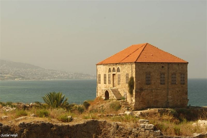 The deeper that sorrow carves into your being, the more joy you can... (Byblos, Lebanon)