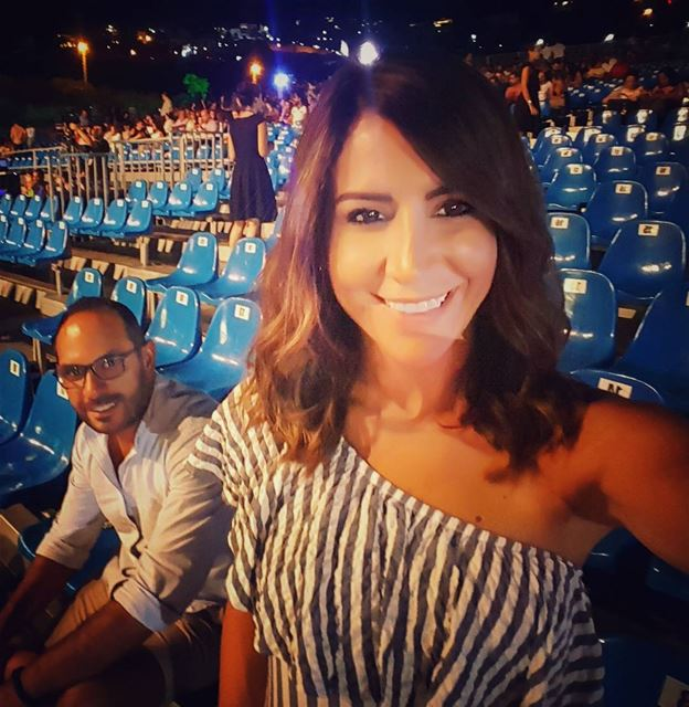 ...and yes we are the first to arrive...Ghassan rocks😂😂 alwaysinahurry... (Jounieh International Festival)
