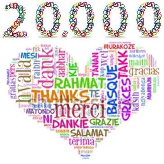 We are extremely glad to announce that our page on Facebook has touched 20,