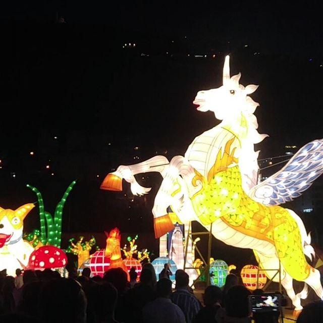 Wonderful place wonderland jouniehsummerfestival magic lights paris ... (Jounieh Summer Festival)