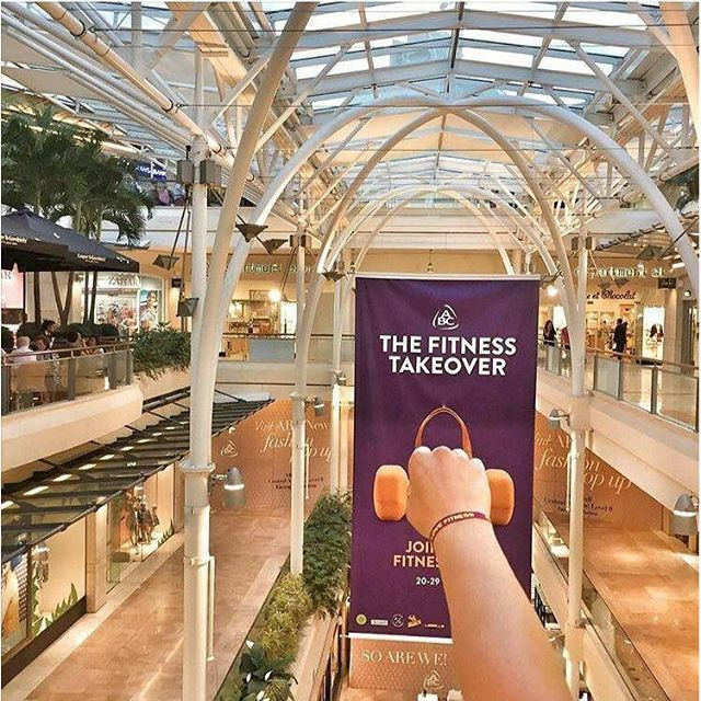 Let's livelovefitness now at @abclebanon , Ashrafieh. Don't forget to take your livelovefitness bracelet. (ABC Mall Achrafieh)