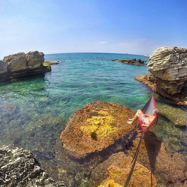 Leaving the world behind @livelove.batroun by @ralphborgi (Batroûn)