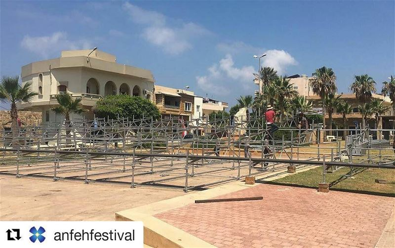 Repost @anfehfestival (@get_repost)・・・Work has started on this year's...
