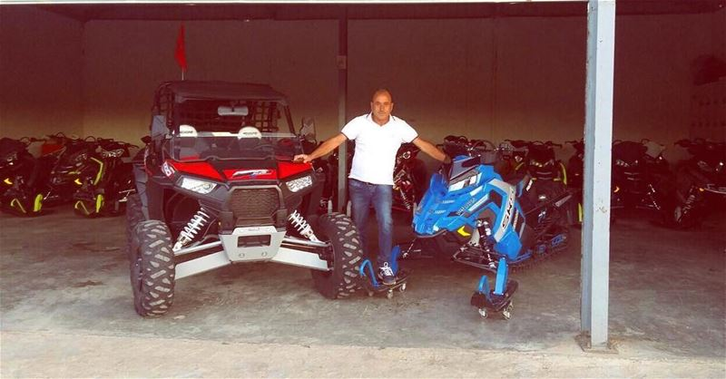 Congratulations Elias Assaad on your new machines ! Getting ready for...