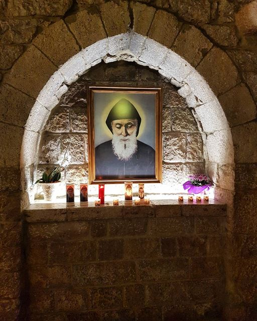 Saint channel. saint_charbel annaya lebanon... (مار شربل - عنايا)