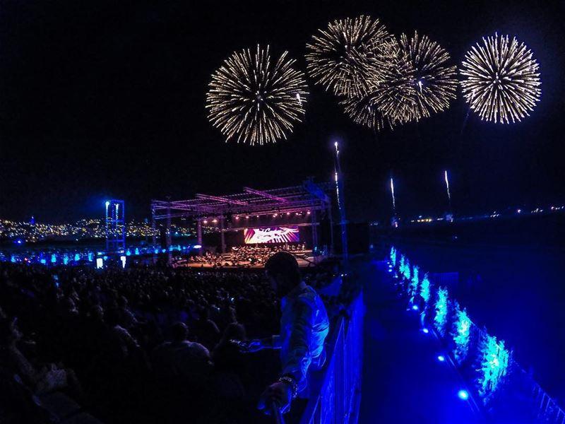 José Carreras 🎤 Zahle International Festival Zif 🎇🎆 (Zahlé District)