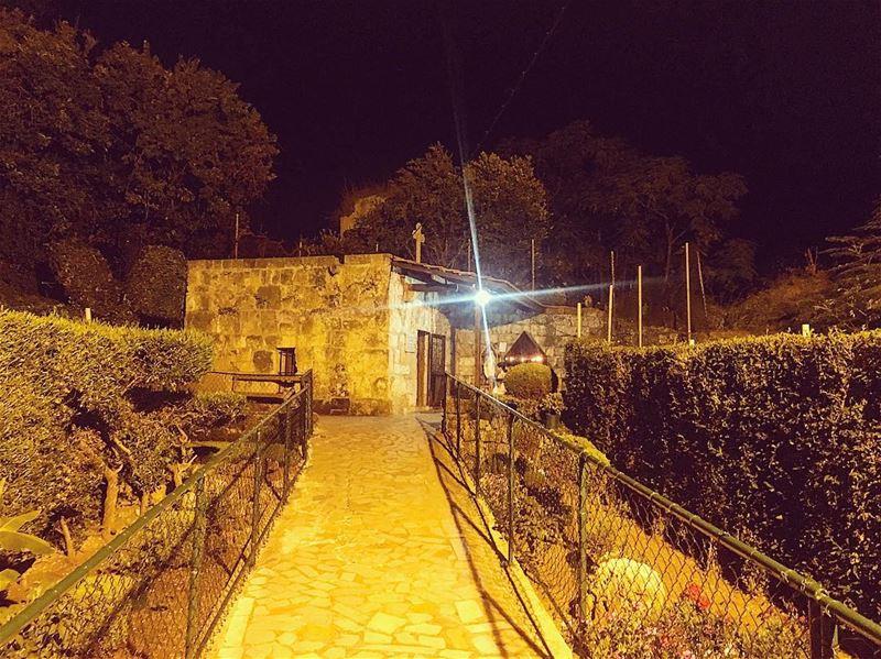 Byblos old city souk summer night LifeWithAView church ... (Nossa Senhora da Penna)