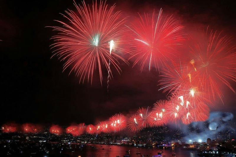 livelovejounieh lebanon fireworks photooftheday picoftheday bestview... (Jounieh International Festival)