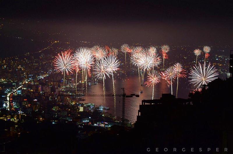 About last night 🎆 Jounieh Bay, Lebanon 🇱🇧..... proudlylebanese ... (Jounieh International Festival)