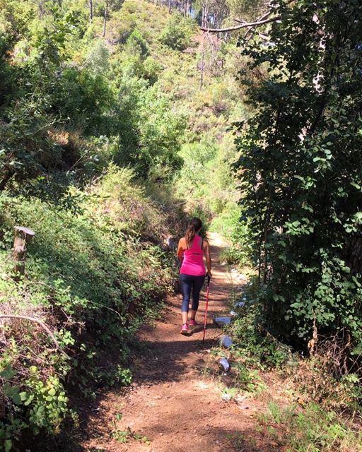 "Finally explored the ""Droubna"" trail in Khenchara, a pleasant trek... (El Khenchâra, Mont-Liban, Lebanon)"