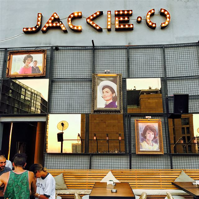 Meet Jackie.O an urban roof lounge in Saifi far from the traffic of Mar... (Jackieo)