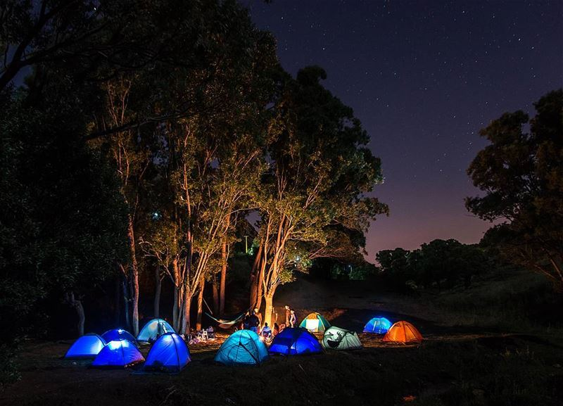 Have stories to tellNot stuff to show ⛺..... camping camp... (El Laqloûq, Mont-Liban, Lebanon)