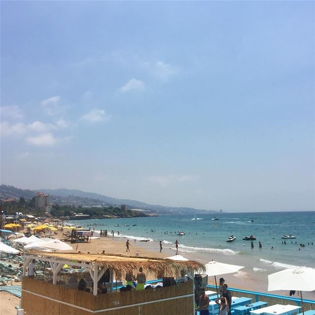 insta_lebanon ptk_lebanon beautifulview livelovelebanon mediterranean... (C FLOW Beach Resort)
