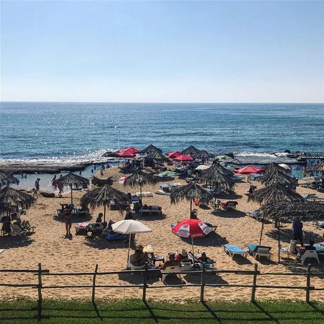Summer vibes 🌊🏖☀️••••••••••••••••••••••• Lebanon thisislebanon ... (Lazy B)