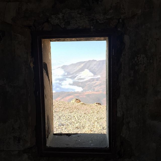 A window to the world ... Light Darkness Sky clouds High ... (Qurnat as Sawda')