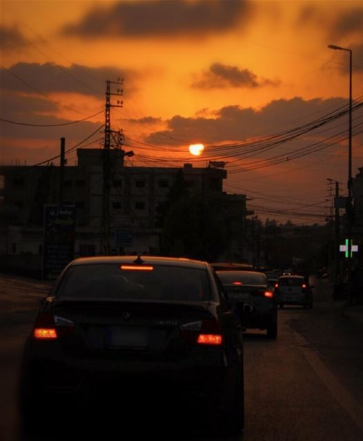 every road leads somewhere; where is yours leading you to? 🌅......... (Lebanon)