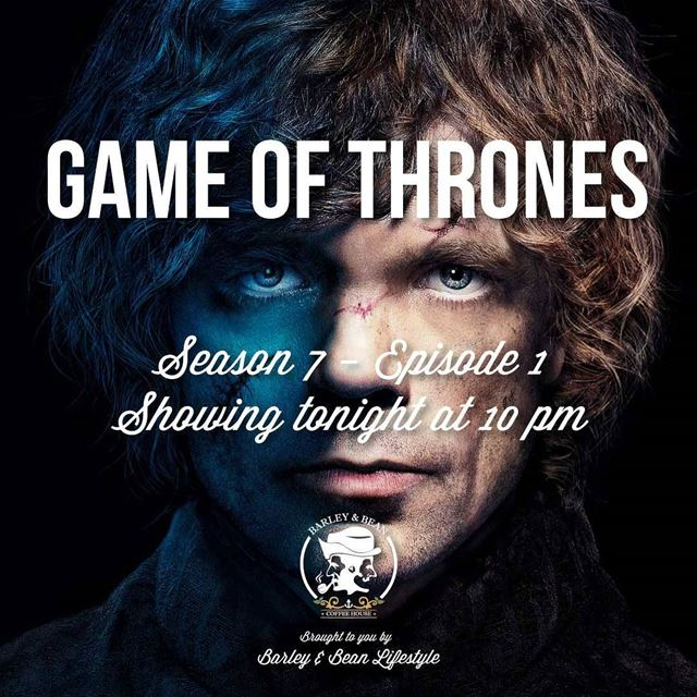 Game Of Thrones Season 1 Tonight at 10pm Big Screen Big Sound...