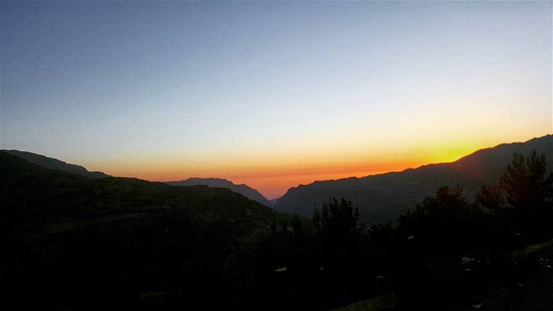 lebanon mnaitra afqa sunset ... (El Mnaïtra, Mont-Liban, Lebanon)